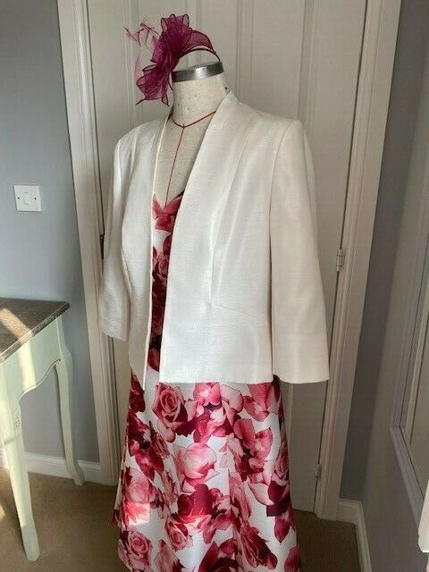 Mother of the Bride Dress and Jacket Jacques Vert size 16