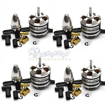 4PCS Emax XA2212 1400KV Brushless Motor For RC Models