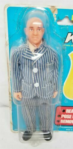 KOJAK 8  FIGURE 1976 EXCEL TOYS NEW WITH ORIGINAL PACKAGING
