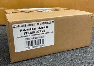 2019-20 Panini Status Basketball Factory Sealed Unopened CASE w/ 20 Hobby Boxes