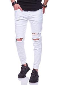 28ffe1e6b30898 Das Bild wird geladen BEHYPE-Jeans-Herren-Roehrenjeans-Knie-Risse-Chino -Hose-