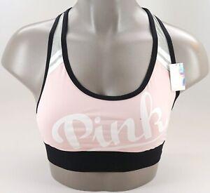 Victoria/'s Secret Pink Ultimate Unlined Mesh Racerback Sports Bra NWT