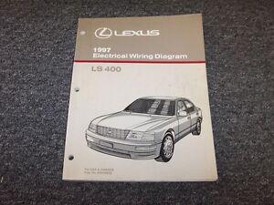 1990 lexus ls400 wiring diagram 1997 lexus ls400 sedan factory original electrical wiring diagram  1997 lexus ls400 sedan factory original