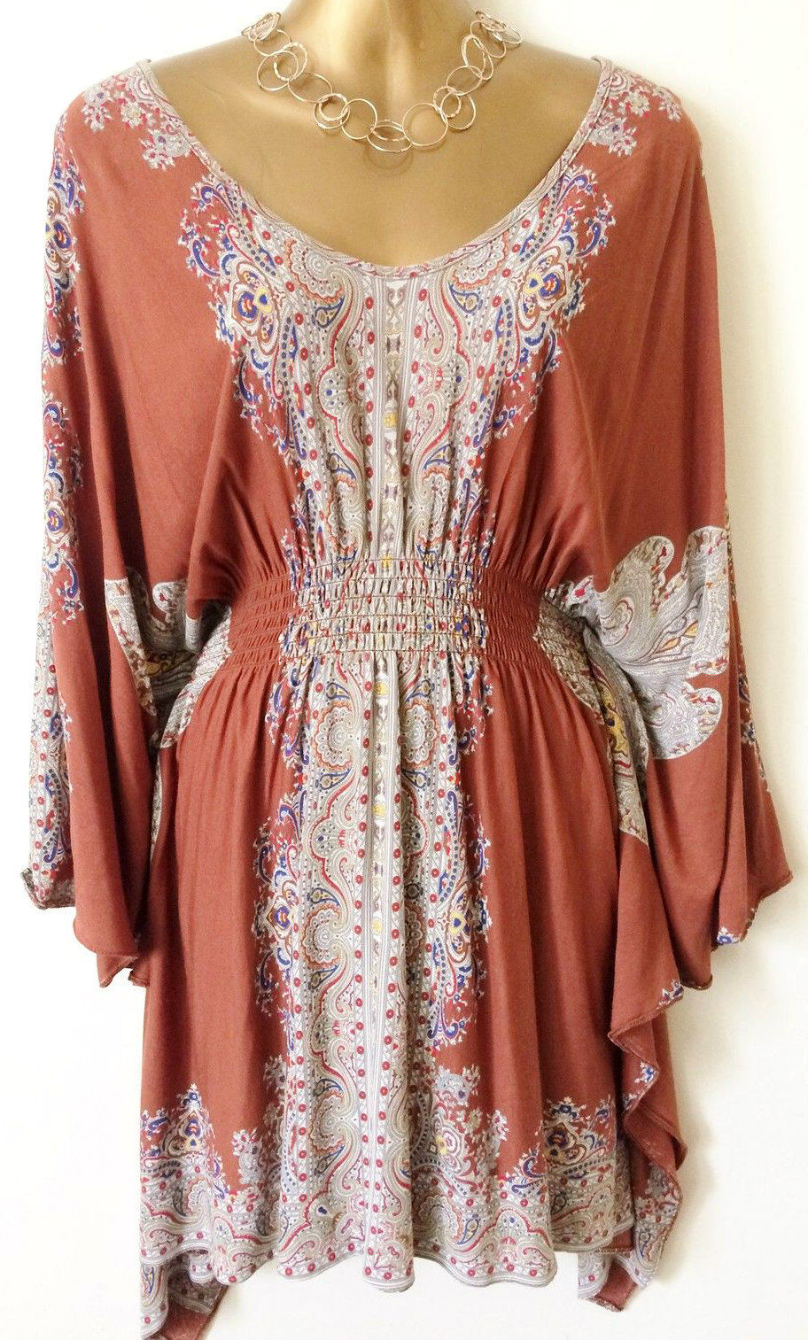 NEW River Island KIMONO KAFTAN COVER UP TUNIC TOP DRESS COMPLETELY SOLD-OUT