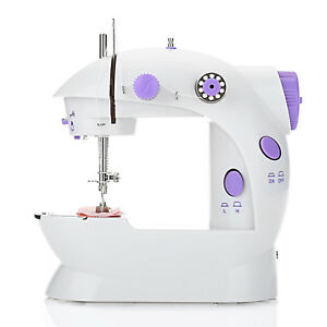 Mini-Sewing-Machine-2-Stitches-Multifunction-Electric-Household-Electronic-New