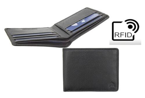 Prime Hide Washington RFID Blocking Black Leather Wallet Bifold Wallet NEW