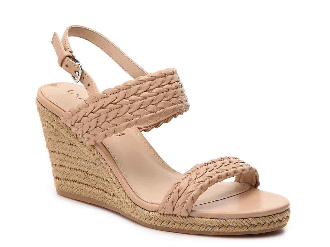 Via Spiga Women's Women's Spiga Indira Espadrille Wedge Sandals Sz.10 fa1709