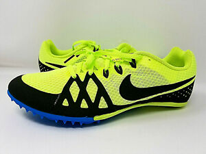 86a27ab52595 New* Nike Zoom Rival S 9 Men's Racing Track Spikes Volt 907564 703 ...
