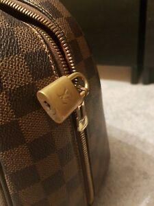Louis-Vuitton-Damier-Bolso-de-cuero-Bolso-Vintage