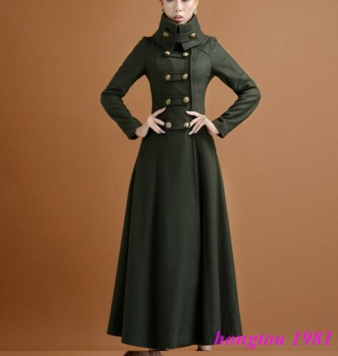 de de long des mélange de manteau de manteau femmes femmes chaudes laine coupe long Manteau manteau des de de xpqHxwX