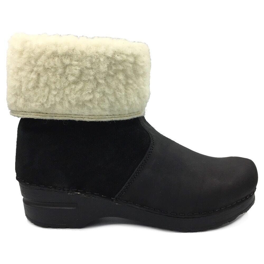 Sanita 'Courtney' Lined Winter Clog Stiefel (Art 457094)