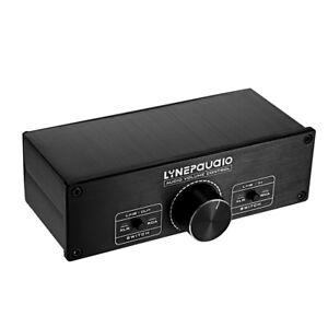 Dual-channel-A967-Passive-Pre-Amplifier-Selector-Preamp-Volume-Controller