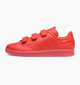 adidas-Stan-Smith-CF-Size-13-5-Red-RRP-75-BNIB-S80043-RARE