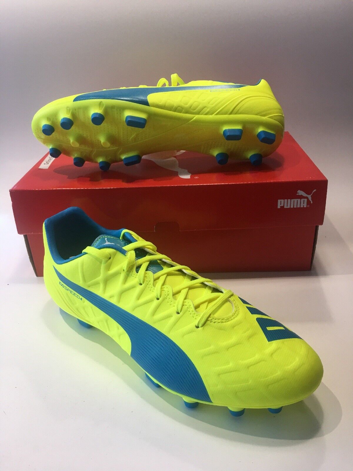 reputable site 1100b 7cd2f Puma EVO SPEED 4.4 Unisex Scarpe Scarpe Scarpe Da Calcio-Taglia 9 UK eacbbb