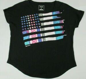 converse femmes drapeau americain