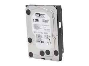 WD Internal Hard Drive - Manufacture Recertified WD30EZRX 3TB IntelliPower 64MB