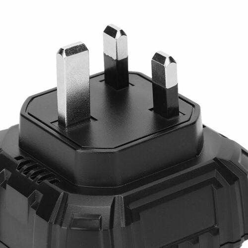 HT107E Socket Tester LCD Circuit Polarity Voltage Detector UK Plug 90‑250V New
