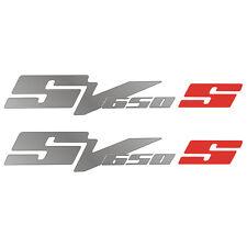 2 Stickers SUZUKI SV 650 S - 30cm x 5cm