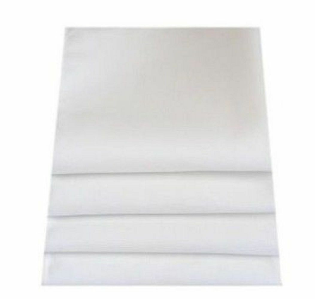 High Quality Linen Feel White Napkin - Set of 4, 6 or 8