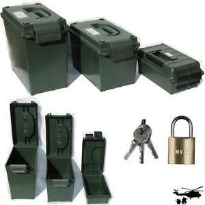 US-MUNITIONSKISTE-KUNSTSTOFF-Aufbewahrungsbox-abschliessbar-Transportkiste