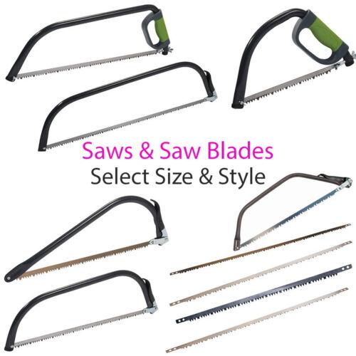 Gardening Tree//Bush Branch//Log HCS Raker Tooth Set Pruning//Bow Saw /& Blades