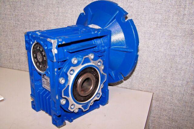 Motovario NMRV-50 Wormgear Speed Reducer Ratio 1:100
