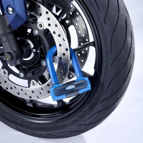 Squire motortcycle Bike Eiger vendidos seguro Ouro Mini Trava De Segurança Do Disco-Azul