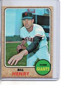 1968 TOPPS BILL HENRY #239 ( EX-MT OR BETTER )