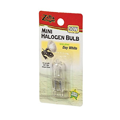 Zilla Reptile Terrarium Heat Lamps Mini Halogen Bulb Day