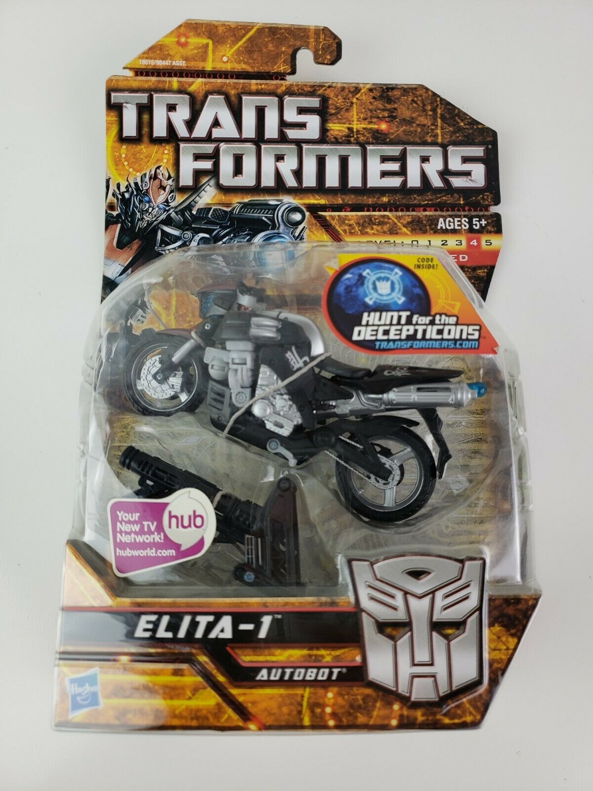 Hasbro Transformers Movie Deluxe classe Autobot Elita-1 azione cifra LEVEL 4 nuovo