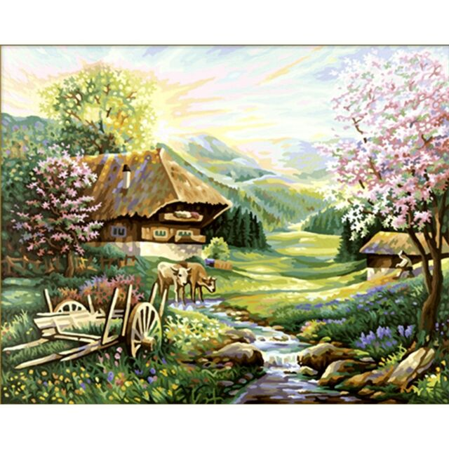Schipper 609130505 Der Frühling Malen Nach Zahlen
