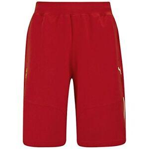 New-Puma-Ferrari-SF-Mens-Motorsport-Red-Sports-Casual-Bermuda-Shorts-rrp-45