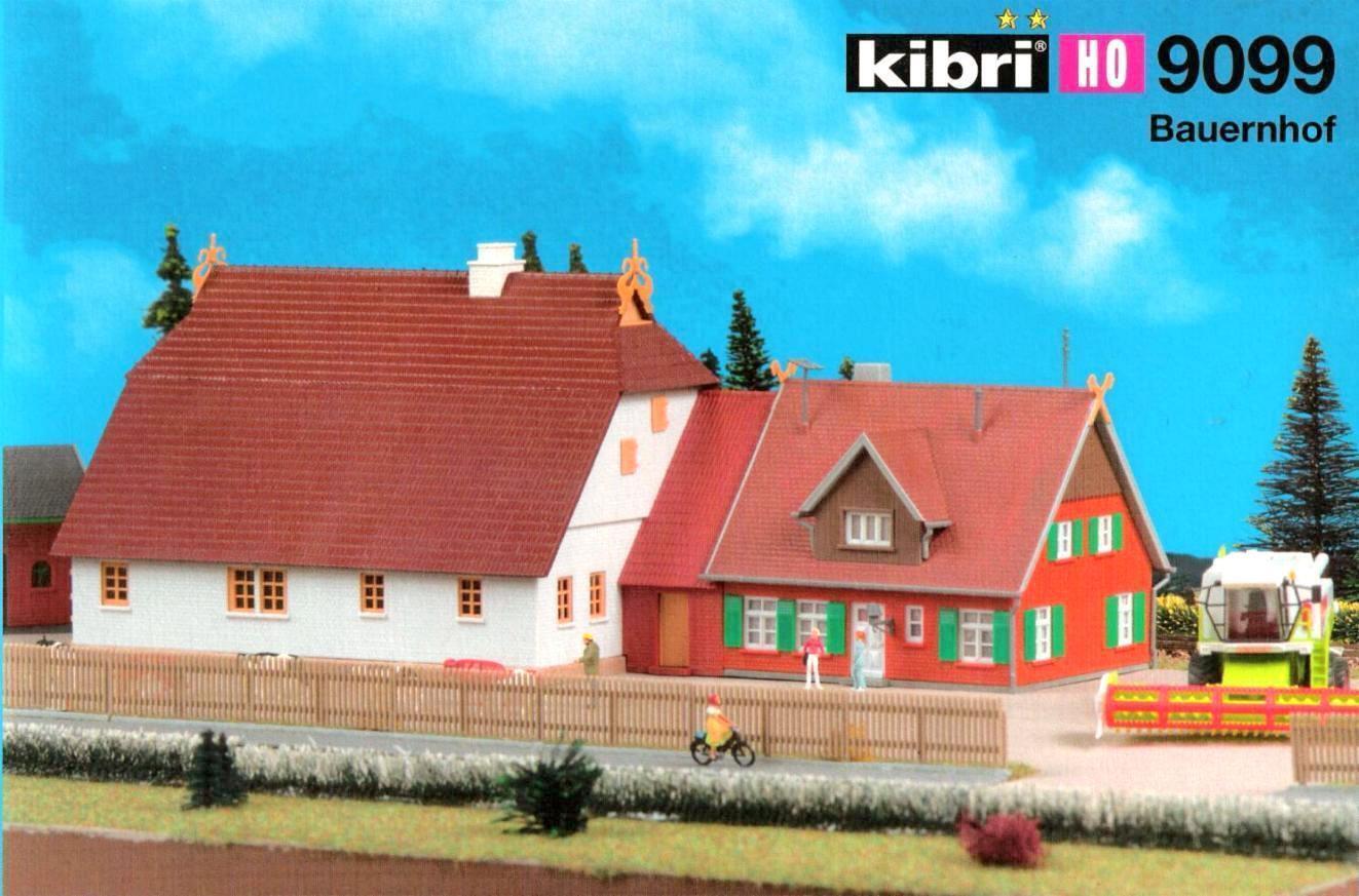 Kibri 9099 H0 - - - großer Bauernhof NEU & OvP  | Stil  b79acb