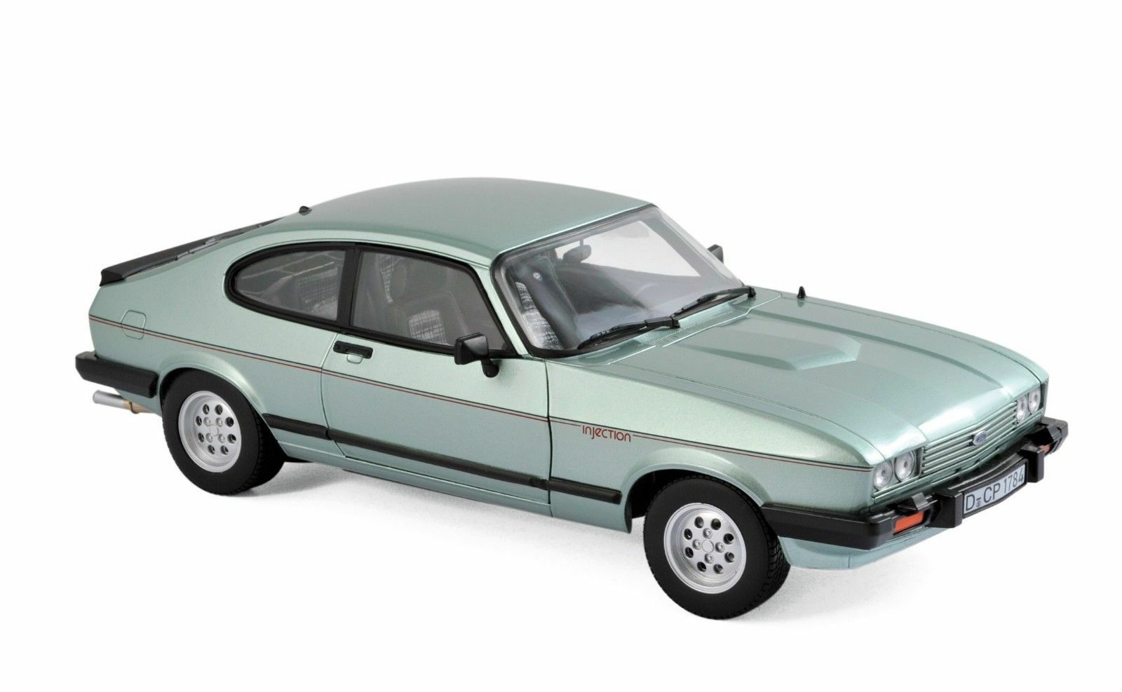 Norev Ford Capri Mk III 2.8 injection año de construcción 1982 light verde metálico, 1 18