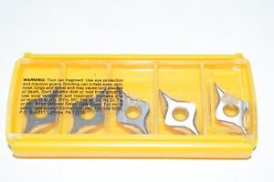 Pack of 5 NEW Kennametal DNMP431K Grade KC9110 Carbide Inserts