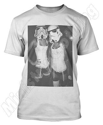 STORMTROOPER SEXY WOMAN T SHIRT STAR WARS NEW 2