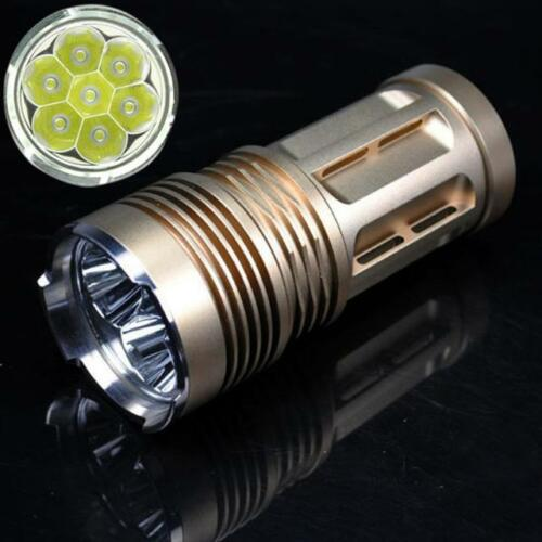 45000 lm Tactical 18x XML T6 LED Flashlight Hunting Torch Lamp Light 4x 18650 R0