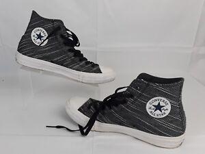b1ef7fc651581a Converse All Star Chuck Taylor s Lunarlon Highs Black White Shoes ...