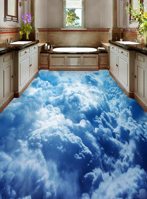 3D Wolken 85 Fototapeten Wandbild Fototapete Tapete Familie DE Lemon