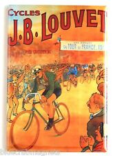 Tour de France 1912 FRIDGE MAGNET (2 x 3 inches) cycling poster bicycle
