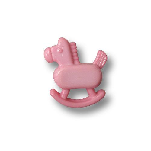 5 dulce rosa niños botones en forma de balancín 1437pi-16x18