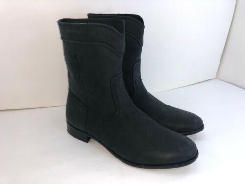 cuir taille Cara femmes 9 Frye en courtes noires pour Bottes Roper nzFSOEWzU