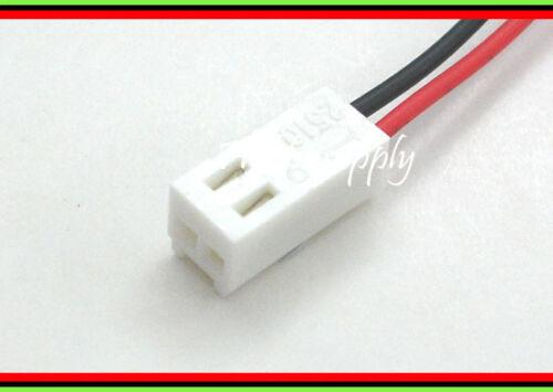5 Set 2510 2.54mm 2-Pin Connettore Maschio intestazione Alloggiamento Donna parte Lead Wire 30cm