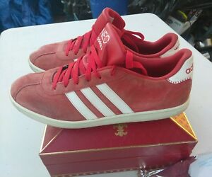 new styles 77001 5923a ... Image is loading Rare-US-Size-11-Adidas-NEO-Vintage Black Pink ...