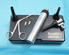 New LED Veterinary Otoscope Kit + 1 Alligator Forcep + 1 Bulb
