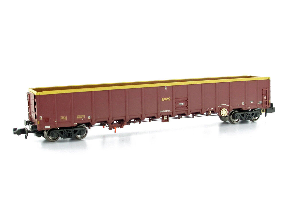 Graham Farish 377-650a Wagons MBA Megabox High-Sided Bogie Box Wagon EWS G
