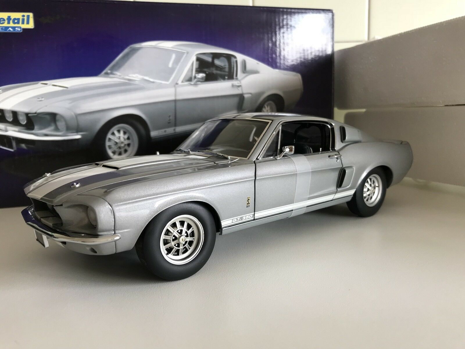 1/18 Exact Detail Ford Mustang GT 350 Shelby RARE No Autoart