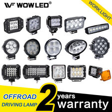 WOW - LED Work Lights Offroad Driving Car Boat Bar Fog Light SUV 18W 27W 36W 60W