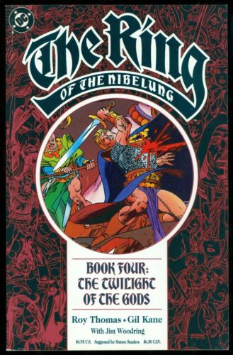 DC Comics Graphic Novel TPB 1990 The Ring of The Nibelung #4 Thomas /& Kane