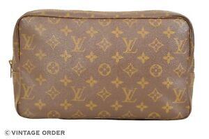 Louis Vuitton Monogram Trousse Toilette 28 Cosmetic Bag Pouch M47522 - YG01218